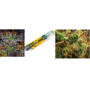 Pro Combo – One Topshelf Cart and Two 1/8 oz Premium Flower